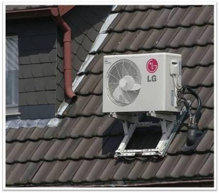 Установка кондиционера на крыше установка кондиционеров на ваз 21099